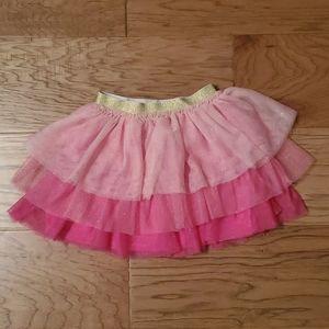 3/$15 Pink sparkly layered skirt tutu Disney
